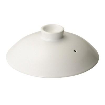 (業務用・鉄鍋・アルミ鍋)鉄製鍋 22cm蓋 ホワイト (入数:1)