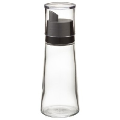 調味料入れ スタビアリュクス 粉末調味料入れ M 140ml/70g ブラック | ふりかけボトル スパイス容器 粉末 だし