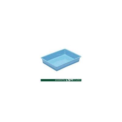 食品用コンテナ サンコー プラスチックトレー 200520 サンバット2号ライトブルー [SKVAT-2-BL] SKVAT2BL 販売単位:1