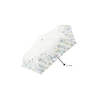 [ アフタヌーンティー リビング ] AfternoonTea LIVING 折りたたみ傘 GM13 ヘム フラワー 晴雨兼用 軽量 折りたたみ 傘