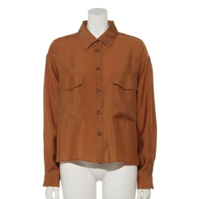オーバーサイズポケットシャツ