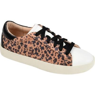 ジュルネ コレクション Journee Collection レディース スニーカー シューズ・靴 Comfort Foam(TM) Erica Sneakers Leopard