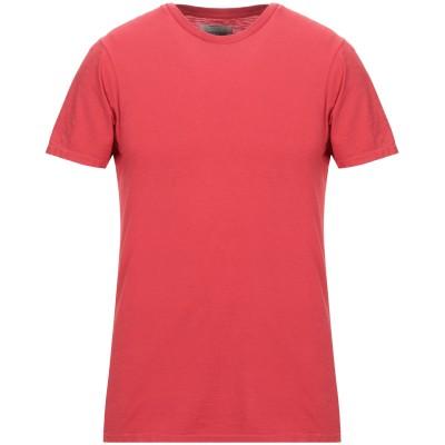 BOWERY T シャツ レッド L コットン 100% T シャツ