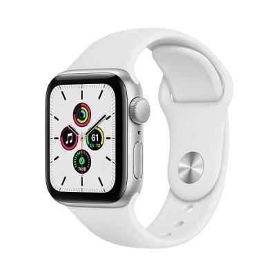 Apple Watch SE GPSモデル 40mm MYDM2J/A ホワイトスポーツバンド 国内正規品 新品未開封 Appleストア版