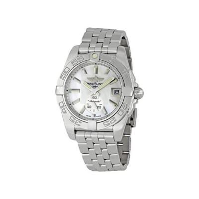 【海外直輸入】Breitling Men's A3733012/A716 Galactic 36 Silver Dial Watch