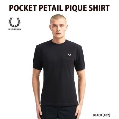 フレッドペリー FRED PERRY Tシャツ POCKET DETAIL PIQUE SHIRT