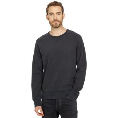 メイドウェル パーカー・スウェットシャツ アウター メンズ Garment-Dyed Crew Neck Sweatshirt Black Coal