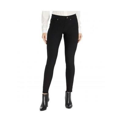 HUE ヒュー レディース 女性用 ファッション ジーンズ デニム Fleece Lined Denim Leggings - Black
