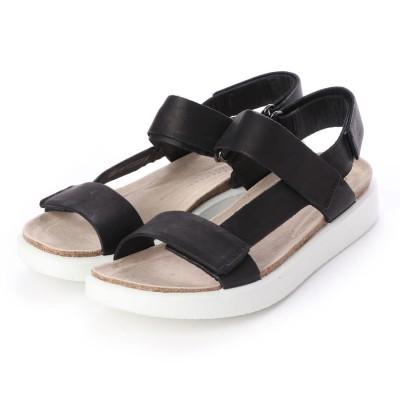 エコー ECCO CORKSPHERE SANDAL W Shoe (BLACK)