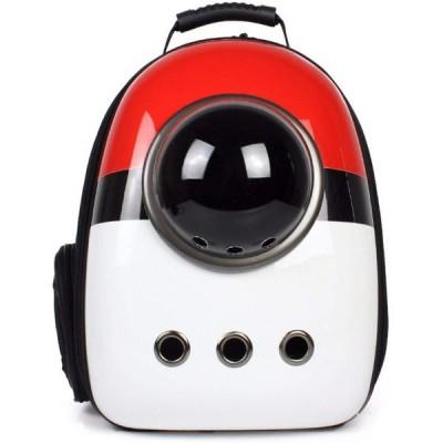 ペットバッグ ペット用キャリーバッグ ?宇宙船カプセル型ペットバッグ 犬猫兼用 犬 バッグ 犬 リュック 通気 メッシュ 犬 用 お出かけ