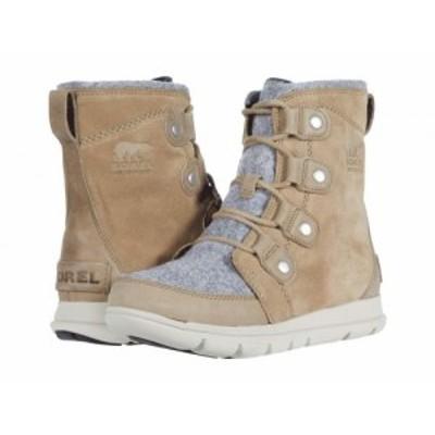 SOREL ソレル レディース 女性用 シューズ 靴 ブーツ スノーブーツ Explorer Joan Khaki II【送料無料】