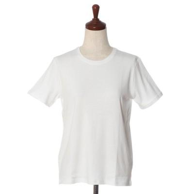 (I.T.'S. international/イッツインターナショナル)ベーシックTシャツ《スビン綿MIXフライス》《CLEANSE(R)》/レディース ホワイト