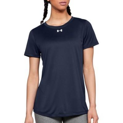 アンダーアーマー Under Armour レディース Tシャツ トップス Locker 2.0 T-Shirt Midnight Navy