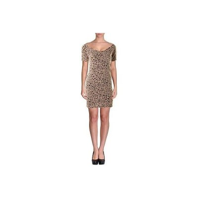 ドレス 女性  ゲス Guess 9521 レディース ピンク 半袖s ミニ Party Cocktail ドレス S