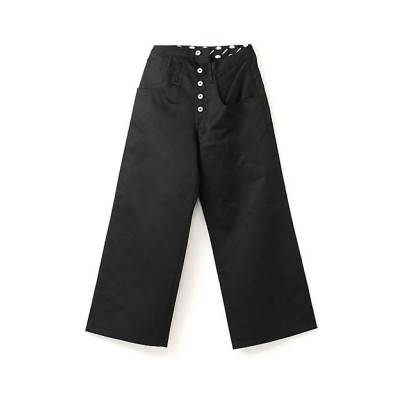 <LIMI feu(Women)/リミフゥ> LIMI feu×Dickies T/C twill Twist Pants クロ【三越伊勢丹/公式】