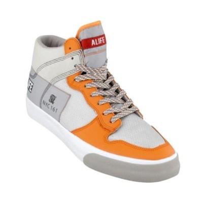 アリフ ユニセックス シューズ  ALIFE Everybody High America - Leather (orange)