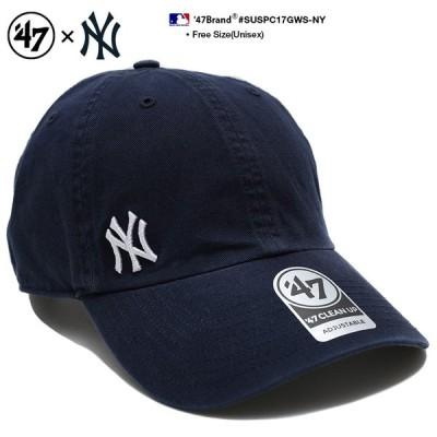 フォーティーセブンブランド 47BRAND ローキャップ ボールキャップ 帽子 ヤンキース CAP MLB メジャーリーグ ベースボール NYロゴ刺繍 USAモデル 紺