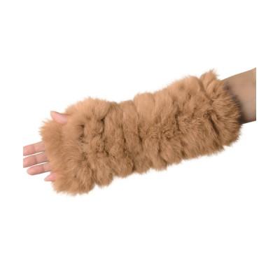 三京商会 / ラビットファー指なし手袋 WOMEN ファッション雑貨 > 手袋
