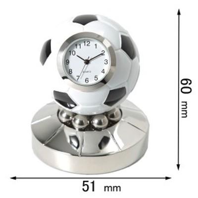 ミニチュアクロック Miniature Clock Collectionミニチュア置時計 サッカーボール C3583[C3583]【返品種別B】