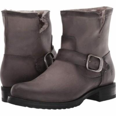 フライ Frye レディース ブーツ シューズ・靴 Veronica Shearling Bootie Grey