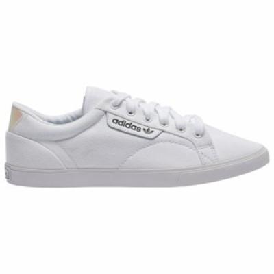 (取寄)アディダス オリジナルス レディース シューズ スリーク Lo Adidas originals Women's Shoes Sleek Lo White Crystal White Black