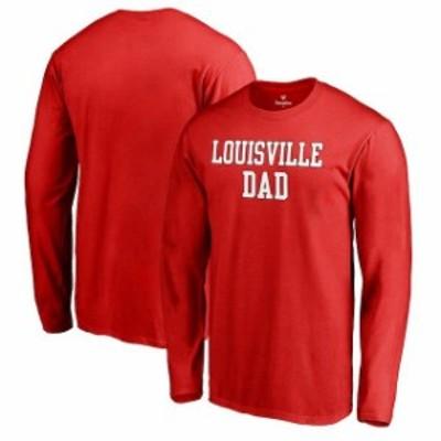 Fanatics Branded ファナティクス ブランド スポーツ用品  Fanatics Branded Louisville Cardinals Red Big & Tall Tea