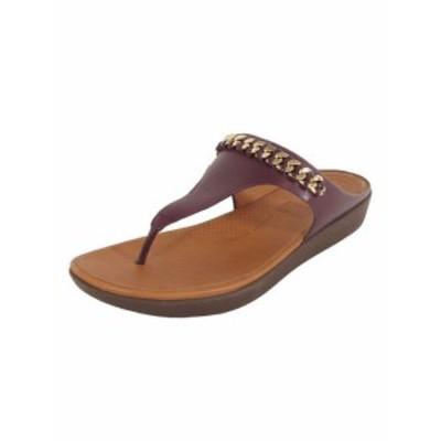 FitFlop フィットフロップ ファッション サンダル Fitflop women banda II leather chain thong sandals shoes