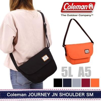 Coleman(コールマン) JOURNEY(ジャーニー) JN SHOULDER SM(JNショルダーSM) ショルダーバッグ 斜め掛けバッグ 5L A5 PC収納 JNSHOULDERSM