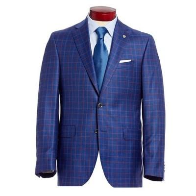 ダニエル クレミュ メンズ ジャケット・ブルゾン アウター Classic Fit Plaid Wool Sportcoat