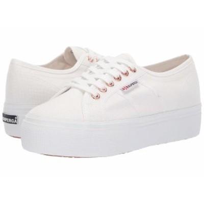 スペルガ レディース スニーカー シューズ 2790 Acotw Platform Sneaker White/Rose