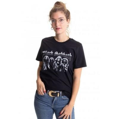 インペリコン Impericon レディース Tシャツ トップス - Greyscale Group - T-Shirt black