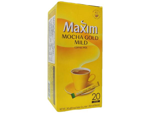 韓國 Maxim~摩卡咖啡(12gx20入)【D006391】即溶咖啡