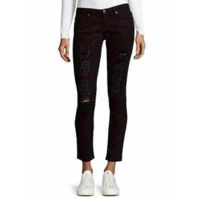 ロビンズジーン レディース パンツ デニム Distressed Skinny Jeans