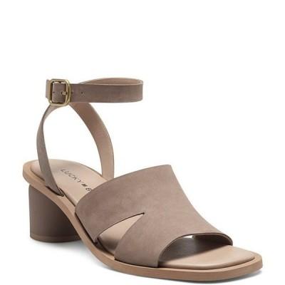 ラッキーブランド レディース サンダル シューズ Pemal Ankle Strap Block Heel Sandals