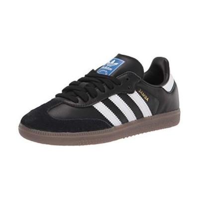 adidas Originals Men's Samba OG Sneaker Black/White/Gum 5