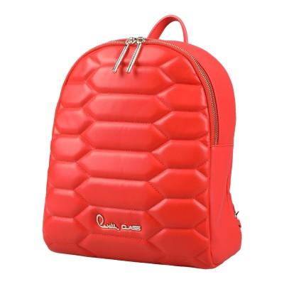 クラス ロベルト カヴァリ CAVALLI CLASS バックパック&ヒップバッグ コーラル ポリウレタン 100% バックパック&ヒップバッグ