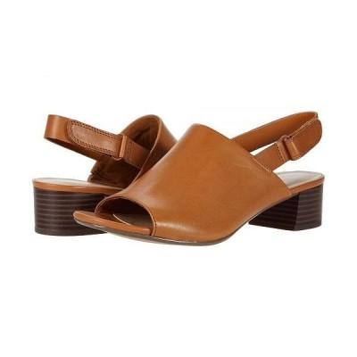 Clarks クラークス レディース 女性用 シューズ 靴 ヒール Elisa Lyndsey - Tan Leather