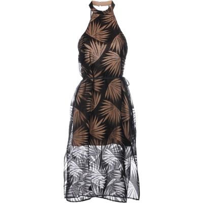 ファインダーズキーパーズ FINDERS KEEPERS 7分丈ワンピース・ドレス ブラック L レーヨン 75% / ナイロン 25% 7分丈ワン