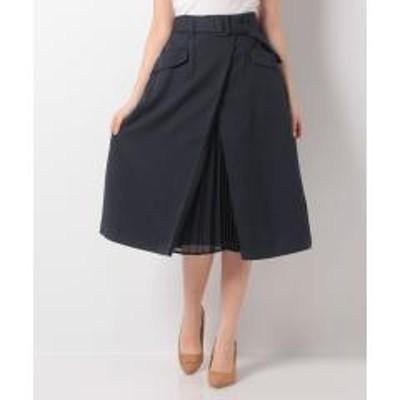 ルゥデルゥプリーツ切替スカート(0R10-08175)