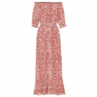バウム ウンド ヘルガーデン Baum und Pferdgarten レディース ワンピース ワンピース・ドレス Abril silk-blend crepe dress