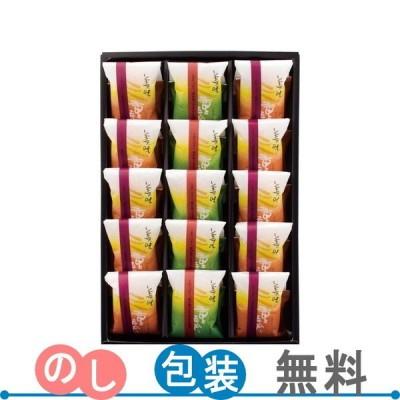 京寿楽庵 乳菓詰合せ 美味 三重奏 15個入 ギフト包装・のし紙無料 (A4)