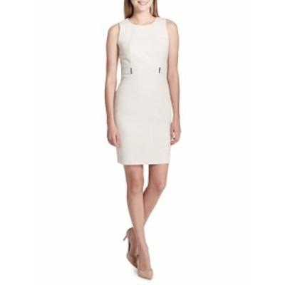 カルバンクライン レディース ワンピース Animal-Print Sheath Dress