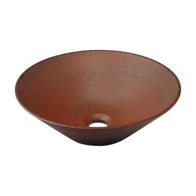 洗面ボウル おしゃれ 陶器製 シンク 日本製 小さい 丸型 幅35×奥行35cm 493-037-M  代引決済不可