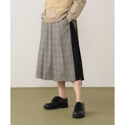 スカート ツイルチェック