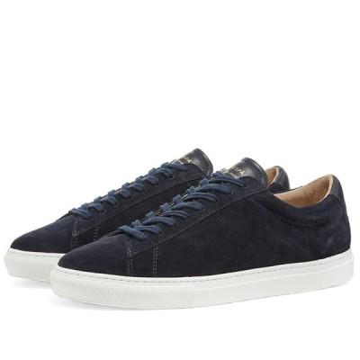 ゼスパ Zespa メンズ スニーカー シューズ・靴 ZSP4 Suede Sneaker Navy