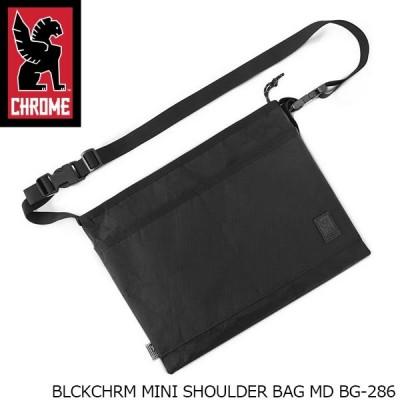 クローム CHROME サコッシュ MINI SHOULDER BAG MD 5L BLCKCHRM ショルダーバッグ BG-286 BG286BKLB 国内正規品