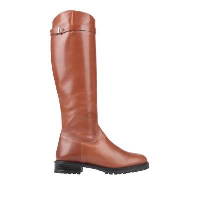 トスカブルー TOSCA BLU ブーツ ブラウン 36 革 ブーツ