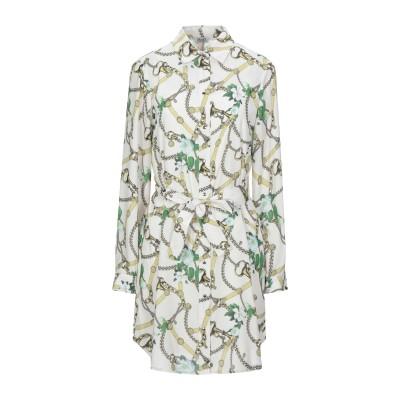 リュー ジョー LIU •JO ミニワンピース&ドレス ベージュ 46 ポリエステル 100% ミニワンピース&ドレス