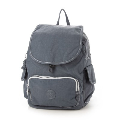 キプリング Kipling CITY PACK MINI (Grey Slate)
