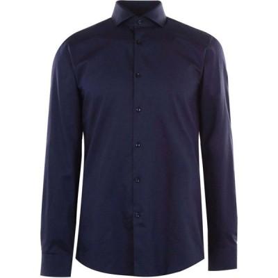 ヒューゴ ボス Hugo メンズ シャツ トップス Kason Dot Shirt Navy